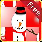 こどもクリスマスのパズルゲーム - 英語 icon
