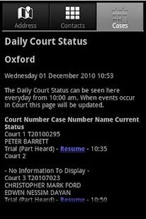 Court Search- screenshot thumbnail