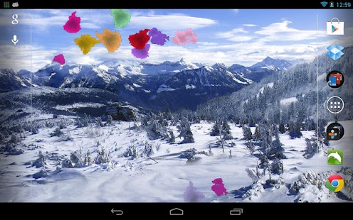 Winter Snow Live Wallpaper Pro- screenshot thumbnail