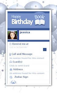 Baby & Kids Birthday Planner - screenshot thumbnail