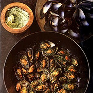 Mussels with Garlic Stuffing.