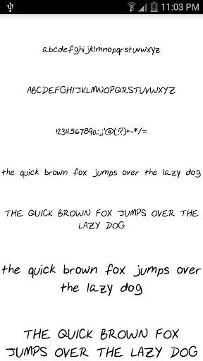 Fonts for FlipFont 14