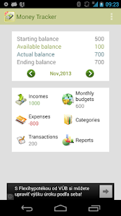 Money Tracker Free - screenshot thumbnail