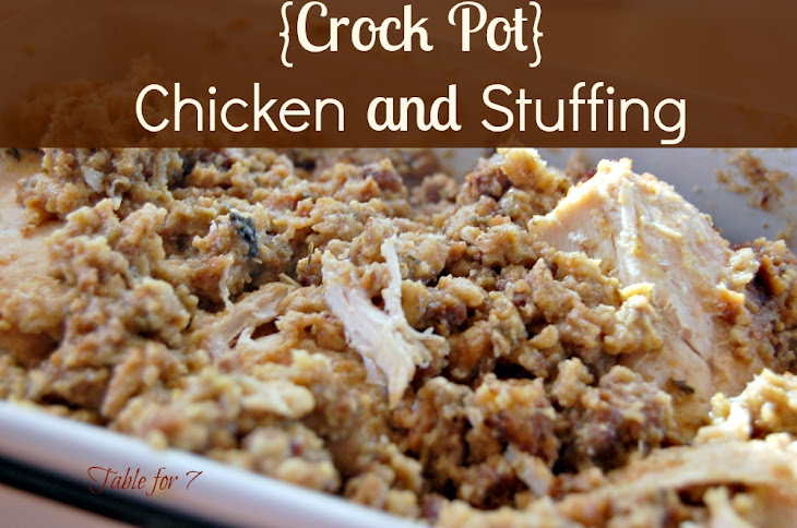 {Crock Pot} Chicken and Stuffing Recipe