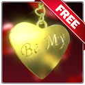 Be my Valentine live wallpeper logo