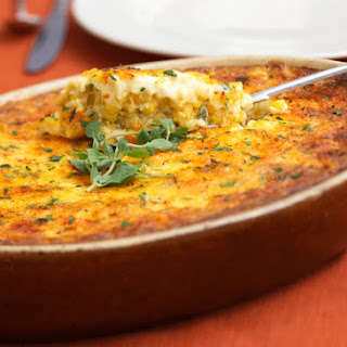 Suzy's Corn and Rice Casserole with Cheese