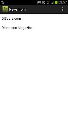 GIS News Reader