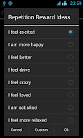 Screenshot of 1-Click Habit Widget