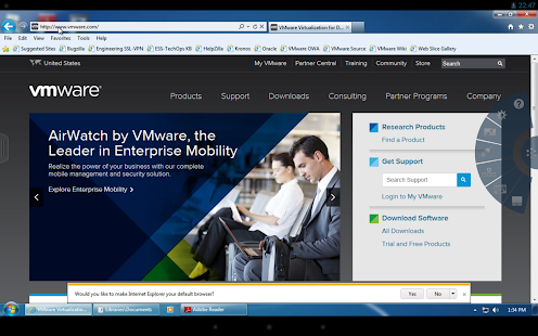 VMware Horizon Client - screenshot thumbnail