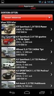 Audi Sverige- screenshot thumbnail