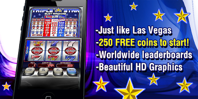 Screenshot of Triple Star Slot Machine