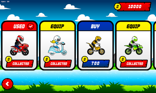 Motocross Saurus Screenshot