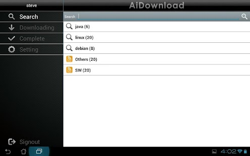 AiDownload for Pad - screenshot thumbnail