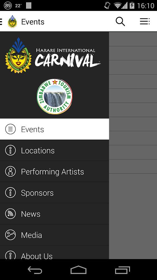 Harare International Carnival- screenshot