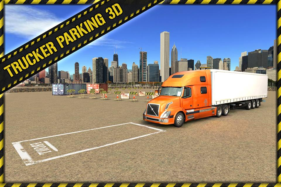 Trucker Parking 3D: captura de pantalla