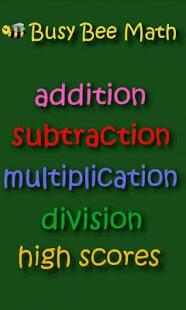Busy Bee Math- screenshot thumbnail