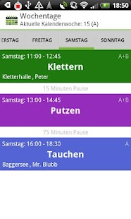 School Timetable Deluxe - screenshot thumbnail