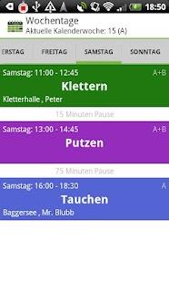 School Timetable Deluxe - screenshot thumbnail