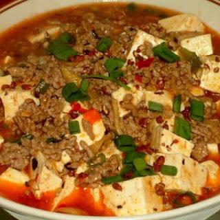 Ma Po Tofu (variatie)