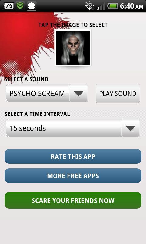 Prank Your Friends Scare App - screenshot