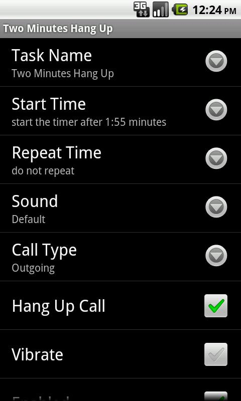 Call Beeper Lite - screenshot