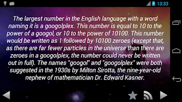 Screenshot of Amazing Science Facts