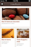 Screenshot of Video about Italian Desserts