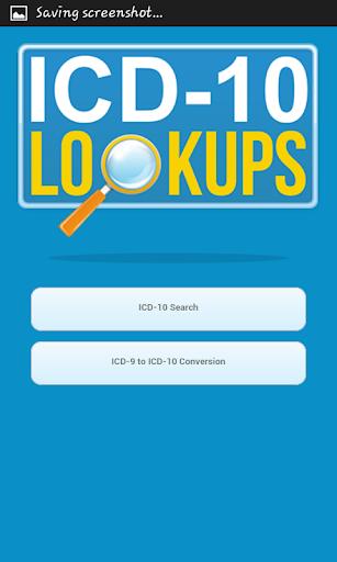 ICD-10 Lookup