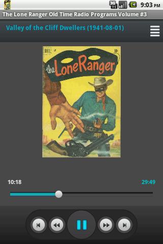 Lone Ranger The OTR Vol. 3