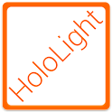 HOLO LIGHT ORANGE CM THEME icon