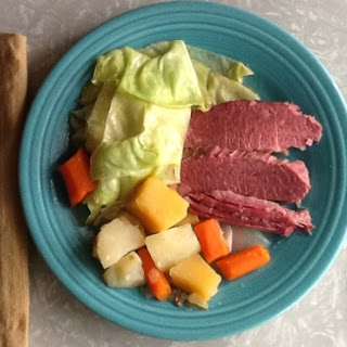 Classic Irish American Boiled Dinner (aka Corned Beef and Cabbage, plus).