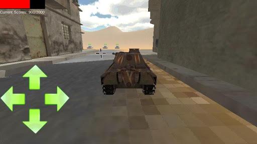 小鎮坦克戰