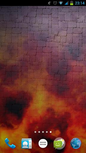 Abubu Fire 2 Live Wallpaper