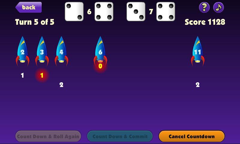 Countdown Dice- screenshot