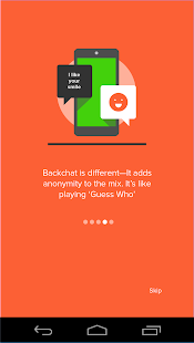 Backchat - Message Anonymously - screenshot thumbnail