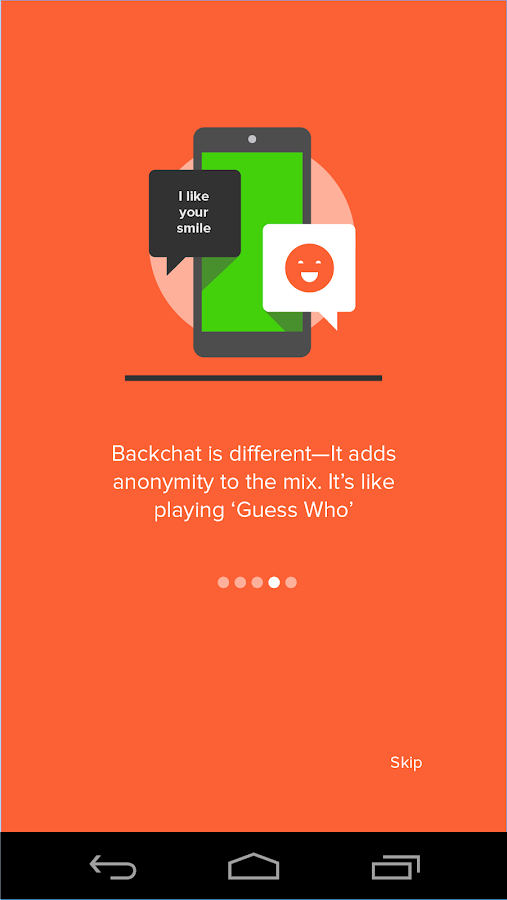 Backchat - Message Anonymously - screenshot