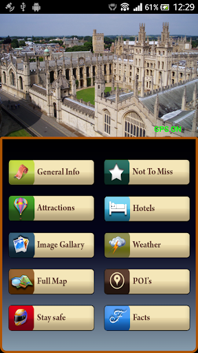 Oxford Offline MapTravel Guide