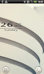 Mono Date Widget - screenshot thumbnail