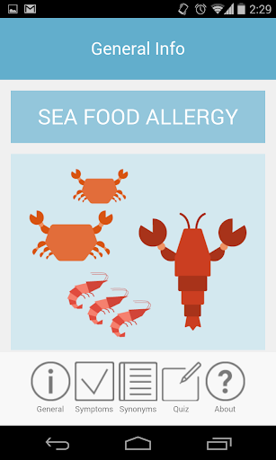 Seafood Allergy
