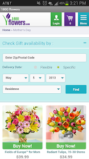 1-800-FLOWERS - Flowers, gifts - screenshot thumbnail