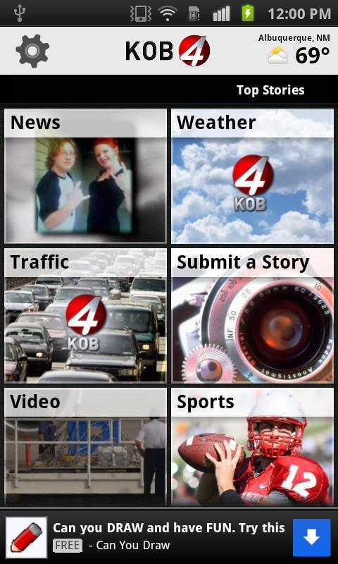 KOB 4 Albuquerque, New Mexico - screenshot