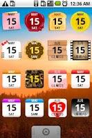 Screenshot of Calendar Widget 2 Lite