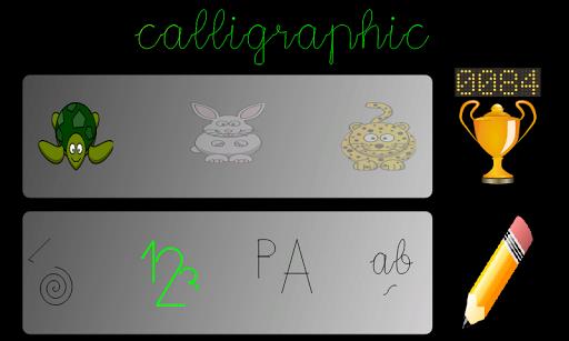 Caligráfico