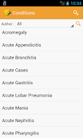 Screenshot of Homeopathic Clinical Tips Lite