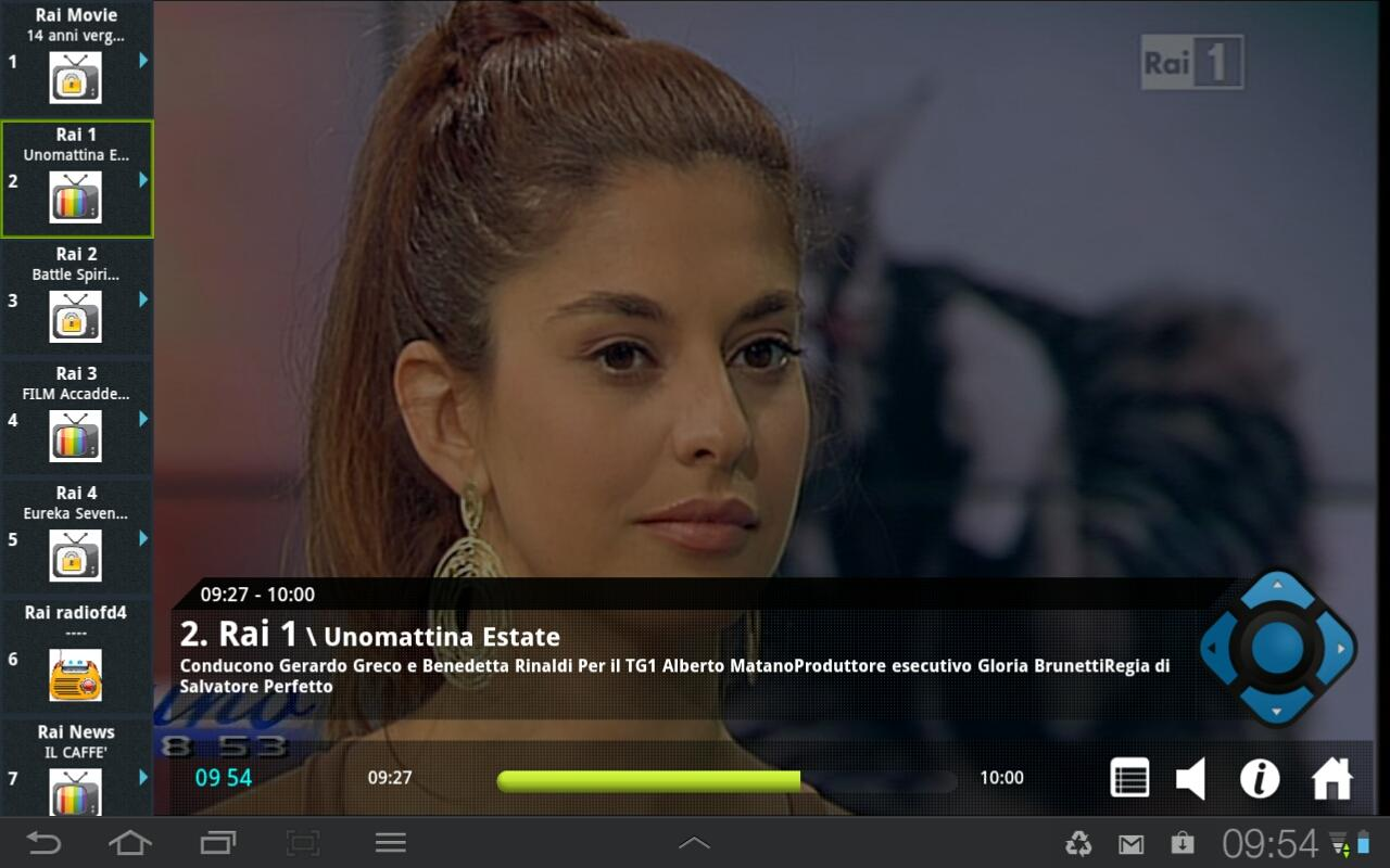 VBox LiveTV- screenshot