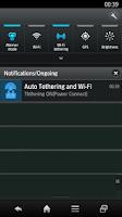 Screenshot of Automatic tethering wireless