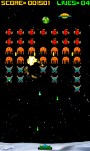 Alien Raiders (Space Invaders)- screenshot thumbnail