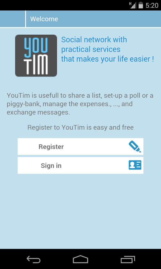 YouTim, organize anything- screenshot
