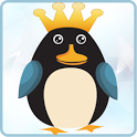 Penguin Checkers icon