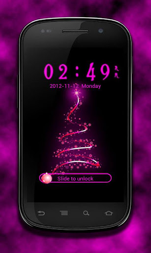 GO Locker Purple Christmas
